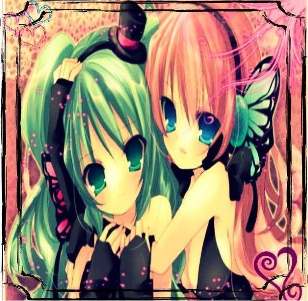 Image de fille manga meilleure amie - Image de manga fille ...
