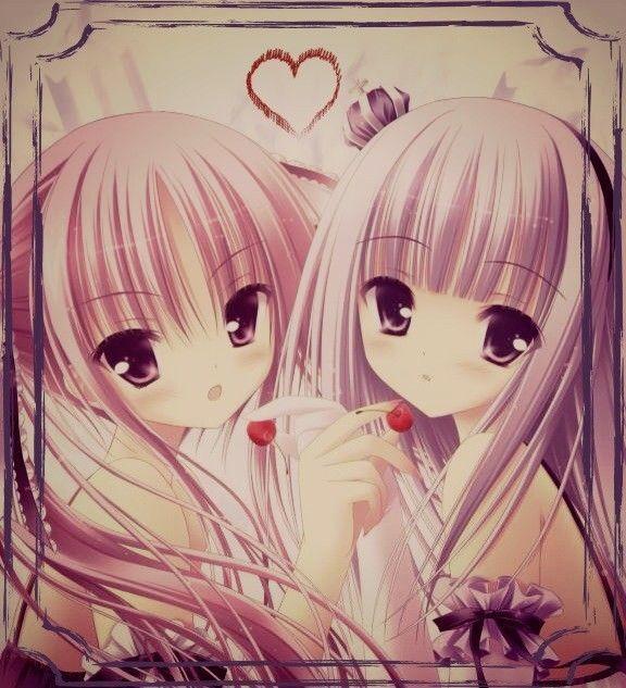 image de fille manga meilleure amie ^_~