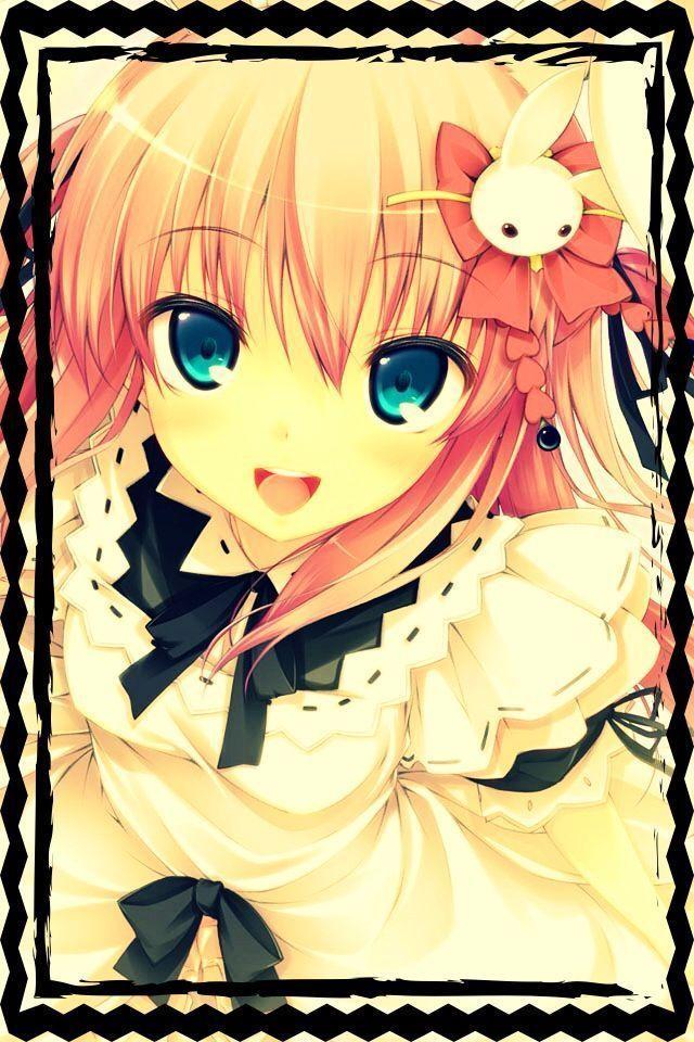 Image de fille cheveux roses - Filles mangas ...
