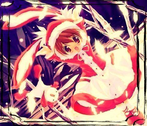 Image de fille manga no l - Image manga noel ...